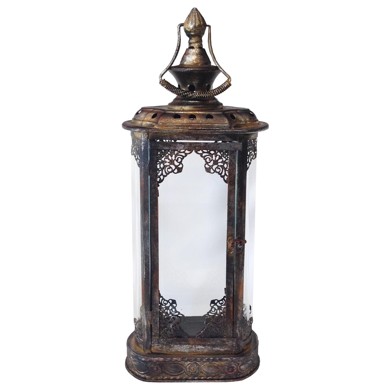 Bronze Metal Lantern Rental