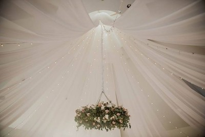 Starburst Ceiling Draping
