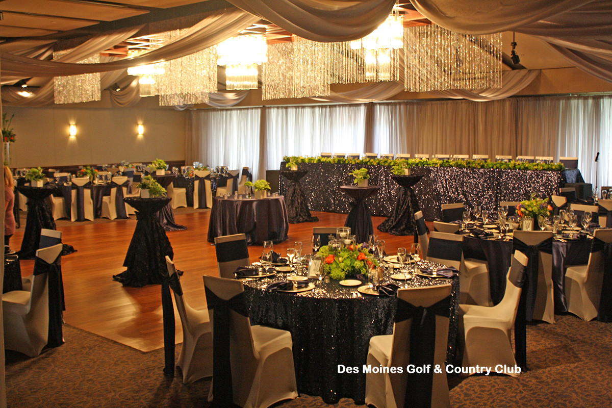 Des Moines Golf & Country Club - West Des Moines - Ceiling Draping