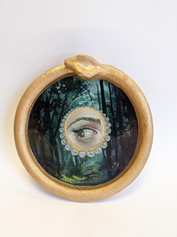 Pearl Lovers Eye  by Megan Buccere