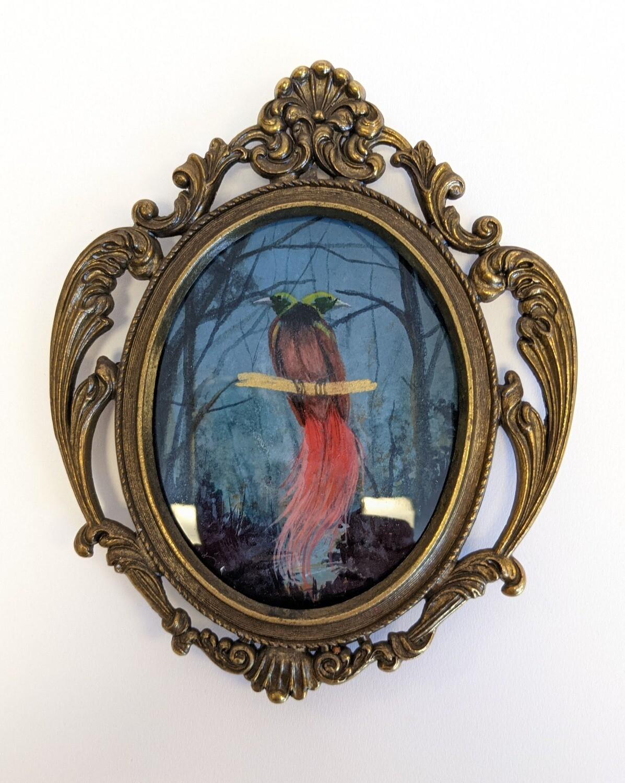 Two headed bird of paradise miniature - Megan Buccere
