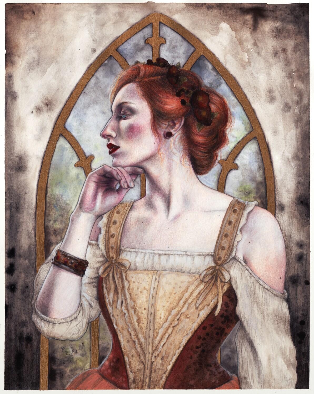 Print of Afternoon Rain by Brynn Elizabeth