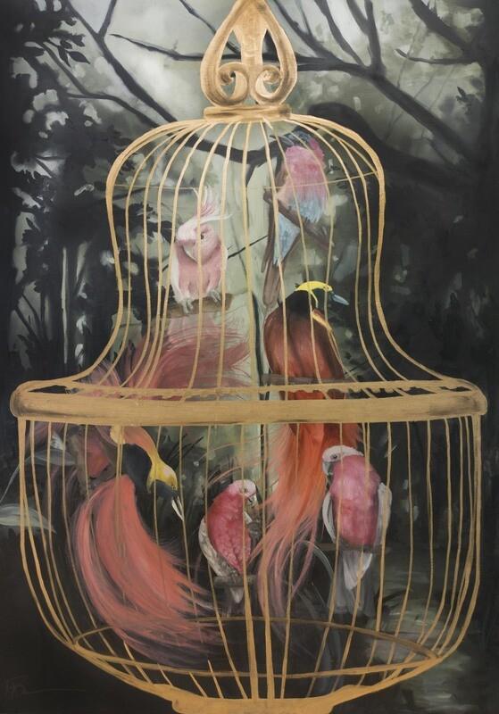 Birdcage  (Original) - Megan Buccere