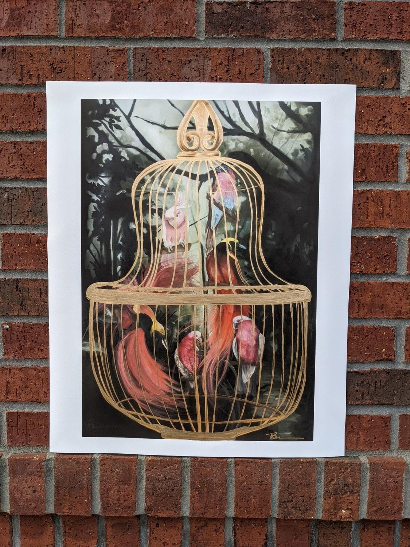 "Print of ""Birdcage"" by Megan Buccere"