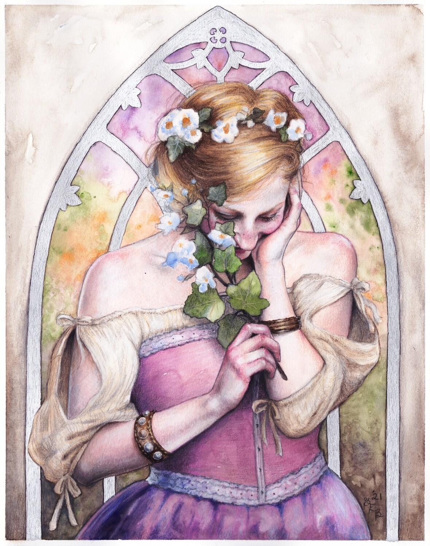 Print of The Morning Sun by Brynn Elizabeth