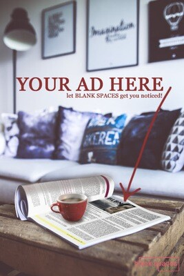 Advertise in Blank Spaces