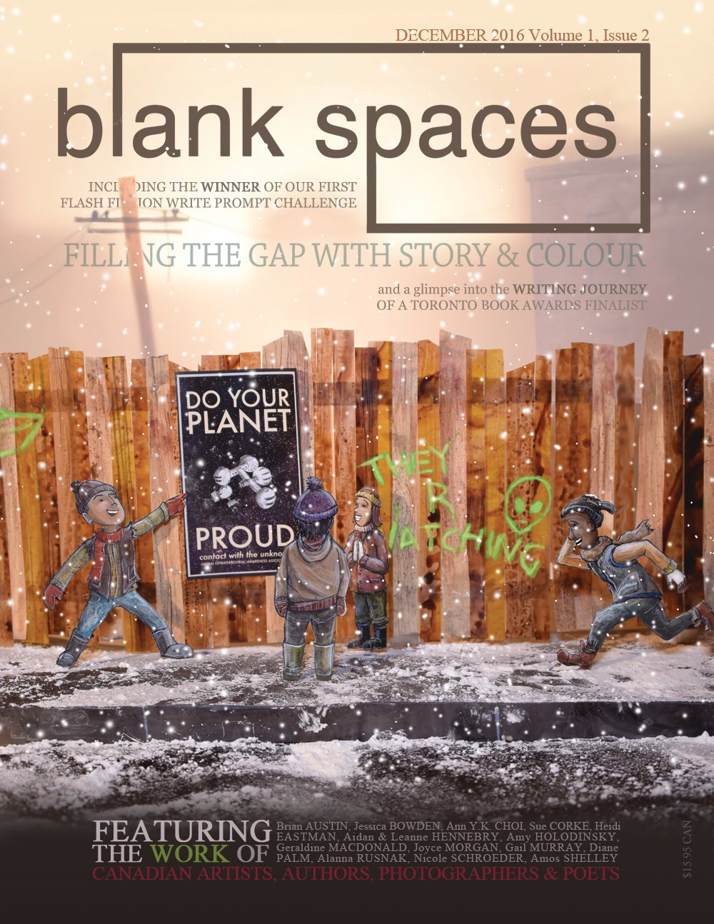 Blank Spaces December 2016 (48 pg)
