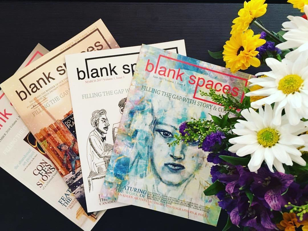 Blank Spaces Annual PRINT Subscription