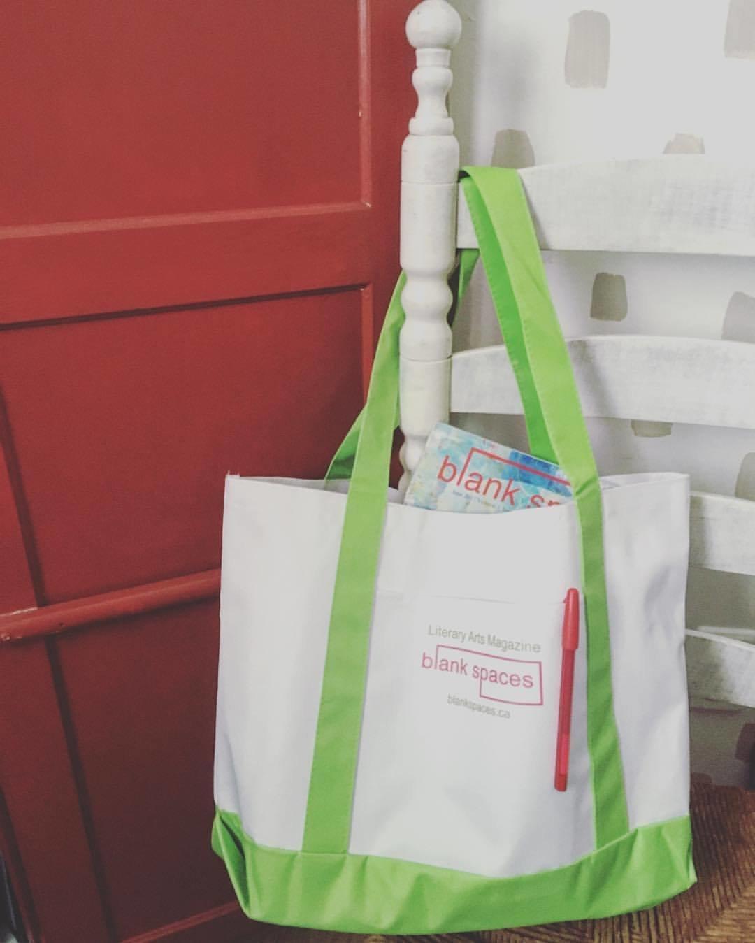 Blank Spaces Tote Bag