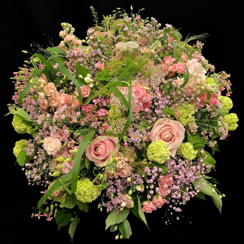 Bouquet champêtre Diaphane