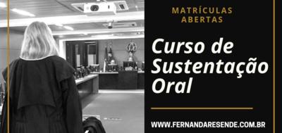 CURSO PRÁTICO DE SUSTENTAÇÃO ORAL - JUAZEIRO/BA
