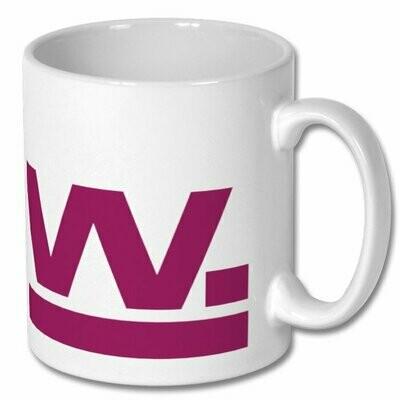 W Mug Plum