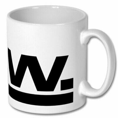 W Mug Black