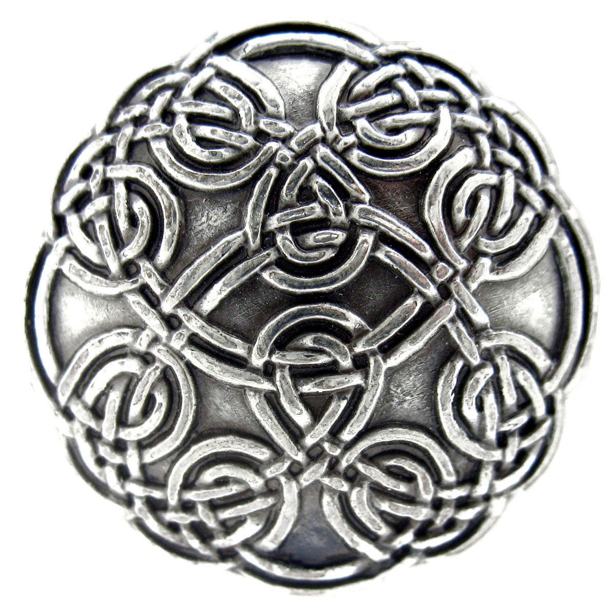 Antique Silver Celtic Concho