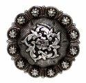 Coloma Antique Silver Concho