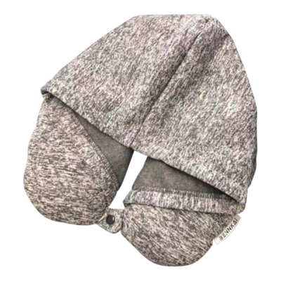 Travel Neck Pillow With Hoodie
