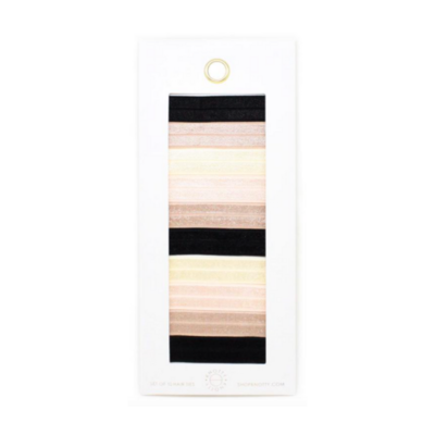 Ribbon Hair Tie Envelope