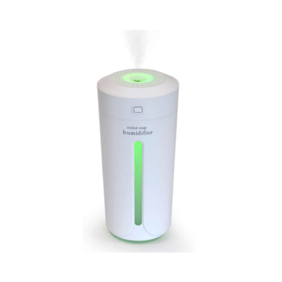 Portable Ultrasonic Humidifier/Diffuser With Night Light