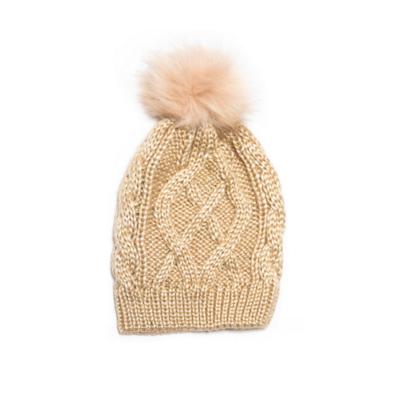 Crystal Pom Pom Hat