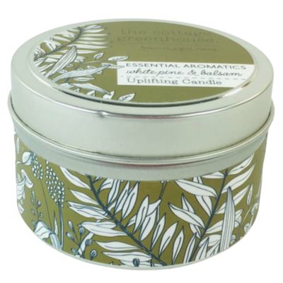 White Pine and Balsam Tin Candle