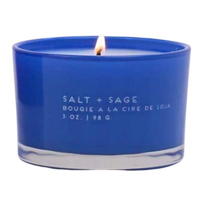 Salt & Sage Glass Candle