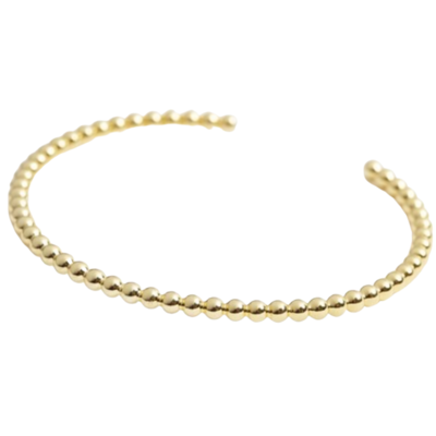 Gold Ball Bangle