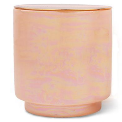 Rosewater & Coconut Soy-Blend Candle With Copper Lid