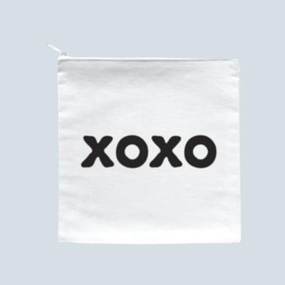 'XOXO' Zipper Pouch