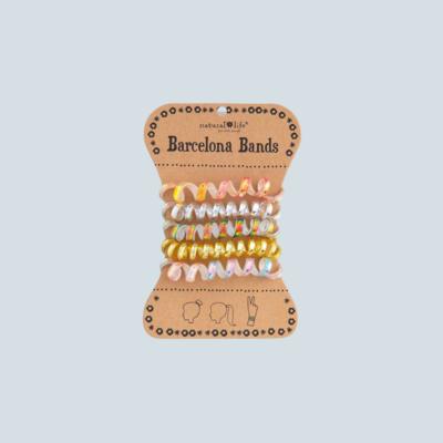 Iridescent Gold Barcelona Hair Bands