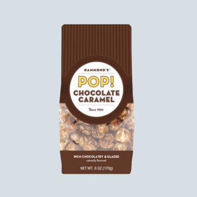 Caramel Chocolate Popcorn
