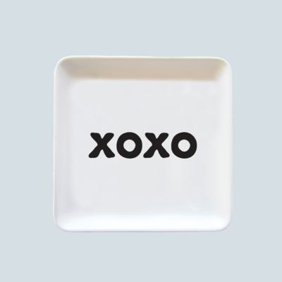 'XOXO' Everything Dish