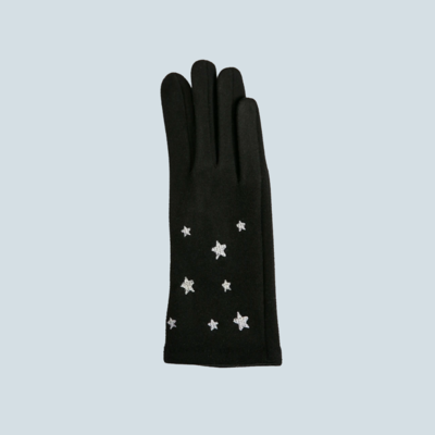 Silver Star Touch Screen Gloves