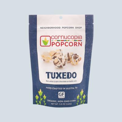Tuxedo Cornucopia Popcorn