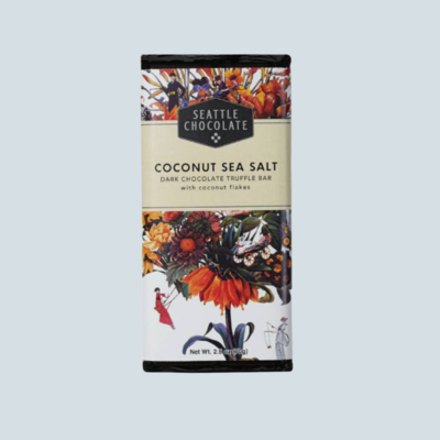 Sea Salt & Coconut Chocolate Bar