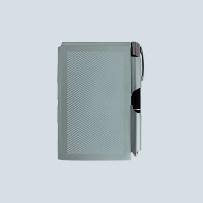 LED Pen & Aluminum Notepad
