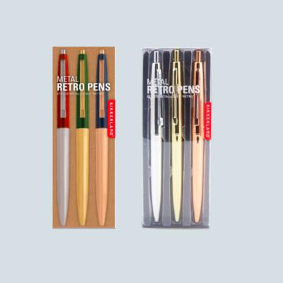 Metallic Retro Pen Sets
