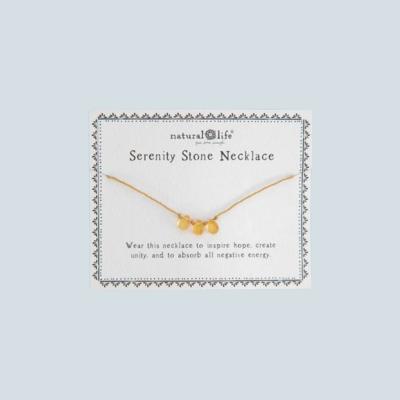 Serenity Stone Necklace