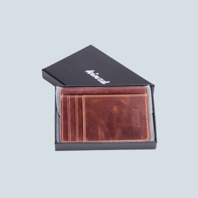 Slim Profile Leather Wallet
