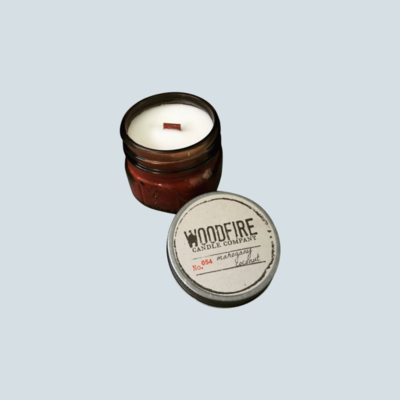 Wood Wick Mountain Pine Candle
