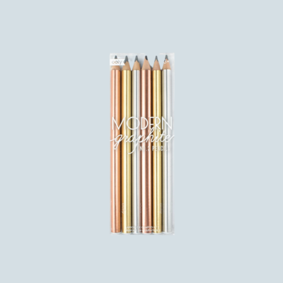 Modern Graphite Pencil Set