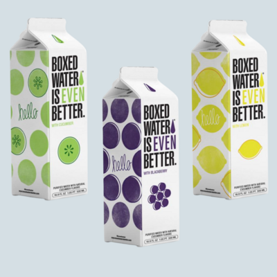 Fruit Flavored Boxed Water Is Better