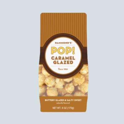 Caramel Glazed Popcorn