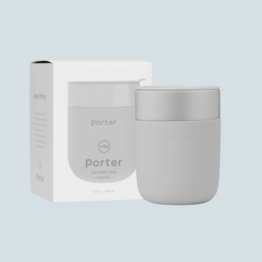 Silicone & Ceramic Mug