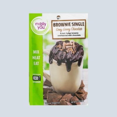 Ooey Gooey Brownie Mug Cake