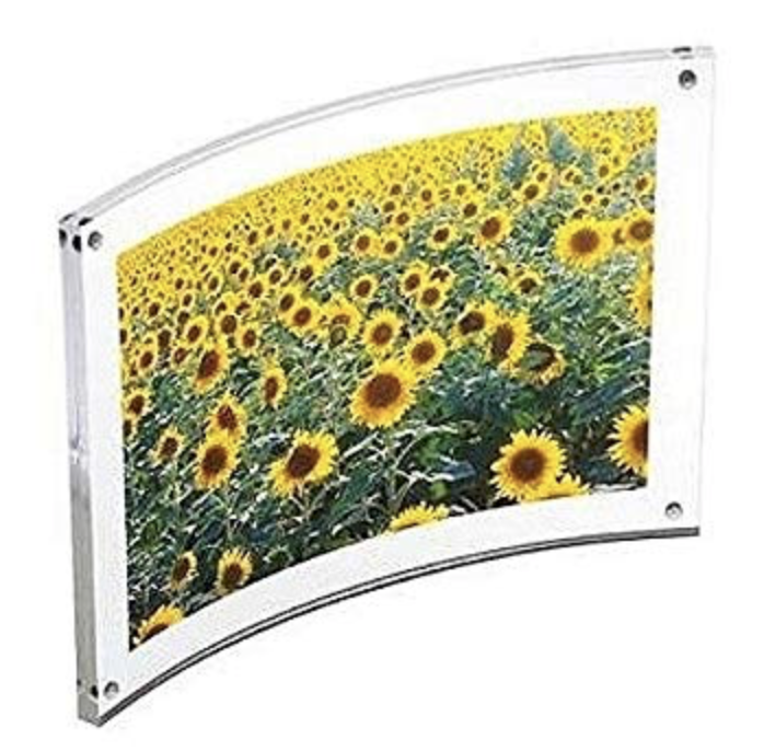 Curved Acrylic Magnet Frame