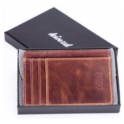 Slim Profile Leather Wallet