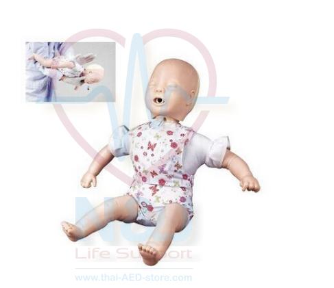 หุ่นจำลองการช่วยฝึกอาการอุดตันทางเดินหายใจในทารก แบบเต็มตัว Full body airway obstruction/CPR Infant manikin