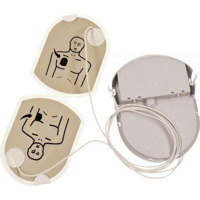 แผ่นอิเล็คโทด+แบตเตอรี่ Adult PAD-PAK Battery+Pads HEARTSINE (Pad-Pak-01)