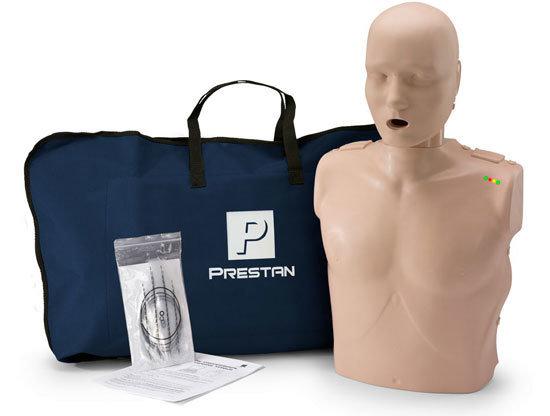PRESTAN หุ่นจำลองการช่วยฟื้นคืนชีพผู้ใหญ่ แบบครึ่งตัว Electronic CPR manikin adult