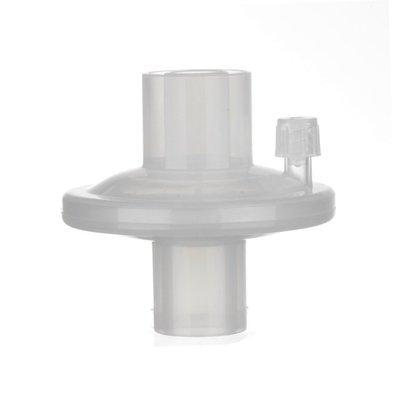 Disposable breathing filter for resuscitator/ventilator